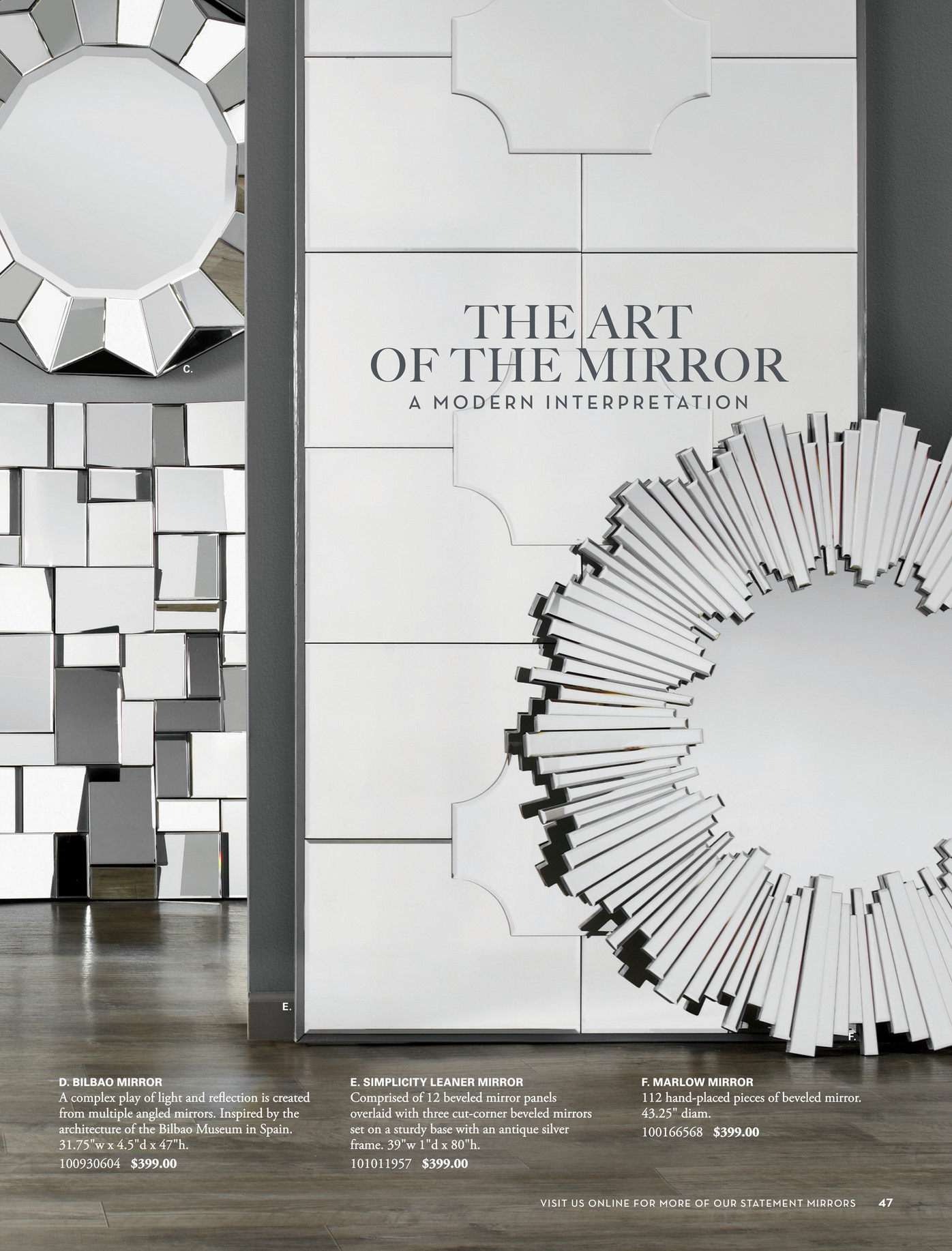 Z Gallerie Mirrors Home Decor