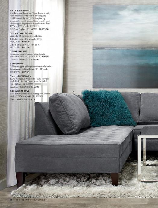 Indochine Rug Acai Sofa