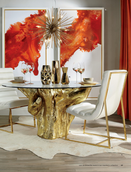 Stunning z gallerie dining room contemporary for Z gallerie bathroom decor