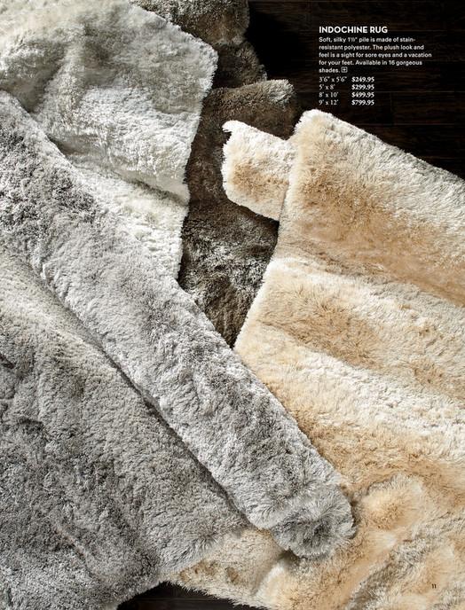 z gallerie - classically modern - indochine rug - gold - 9' x 12'