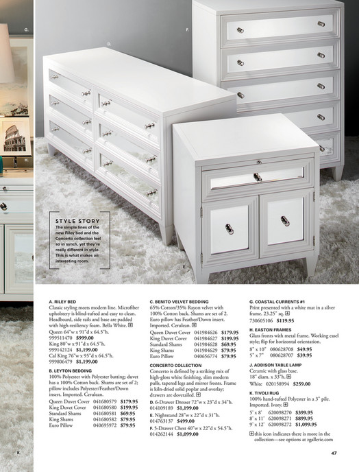 Z Gallerie Celebrate In Style Concerto Nightstand