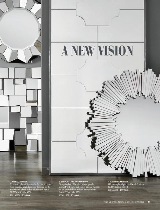 Z Gallerie - Refresh - Axis Floor Mirror