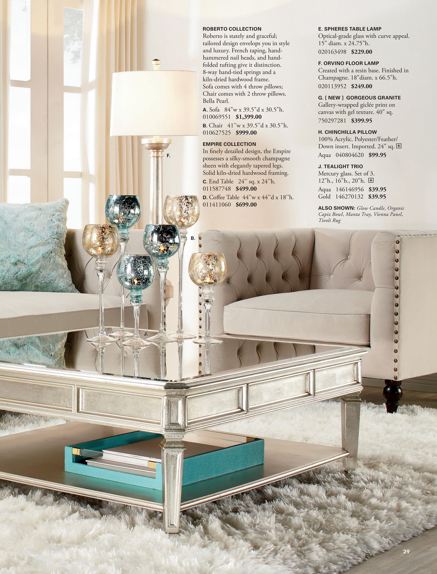 Empire Coffee Table Z Gallerie Color Full Page 28 29