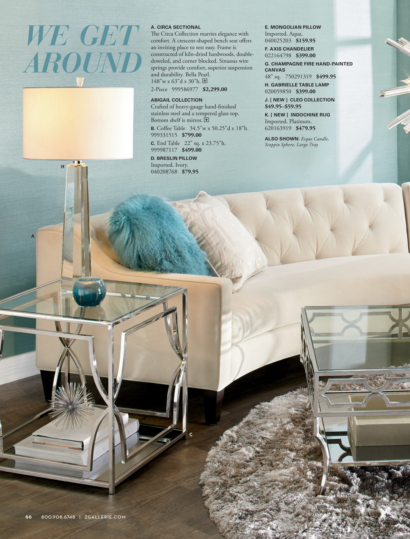 z gallerie - we love color - page 66-67