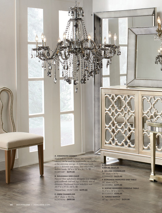 z gallerie chandelier bellina a anderson cabinet sized well for smaller spaces our versatile cabinet gallerie designed by you bellina chandelier