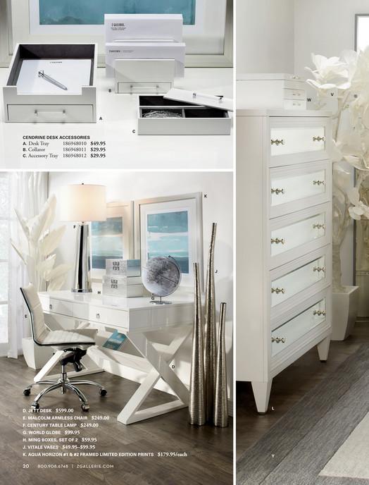 B V W A C Cendrine Desk Accessories 186948010 49 95 Tray