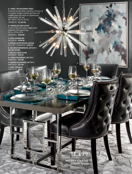 A NEW RYLAN DINING TABLE Entertain In Style Rylan Extends To Welcome
