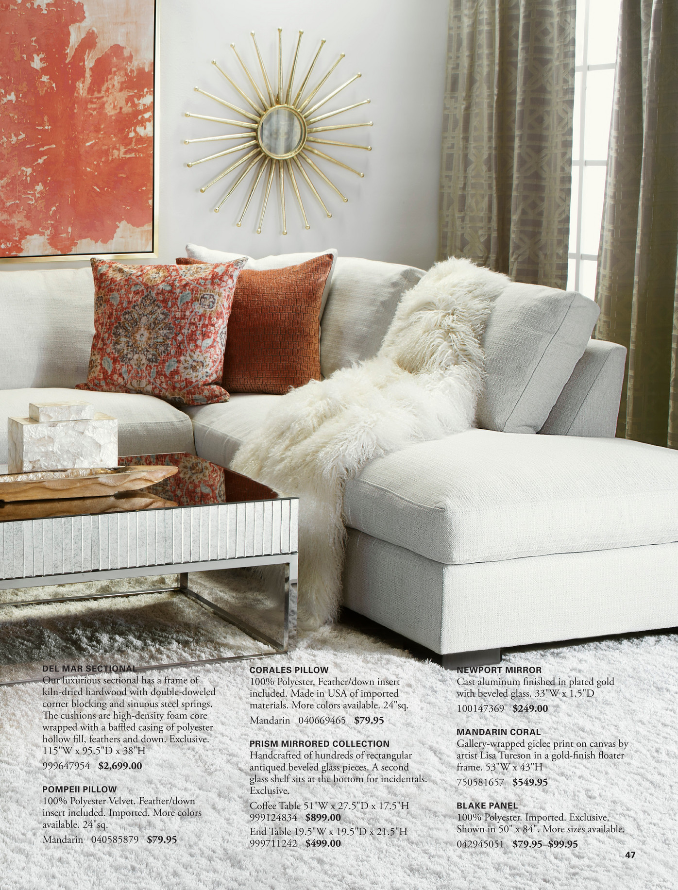 Z Gallerie Spring Luxe Page 46 47