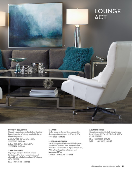 High Quality Furnish It LOUNGE ACT K. H. M. G. E. DUPLICITY COLLECTION K. AWASH M.  LUMIERE BOXES Created With Stainless Steel