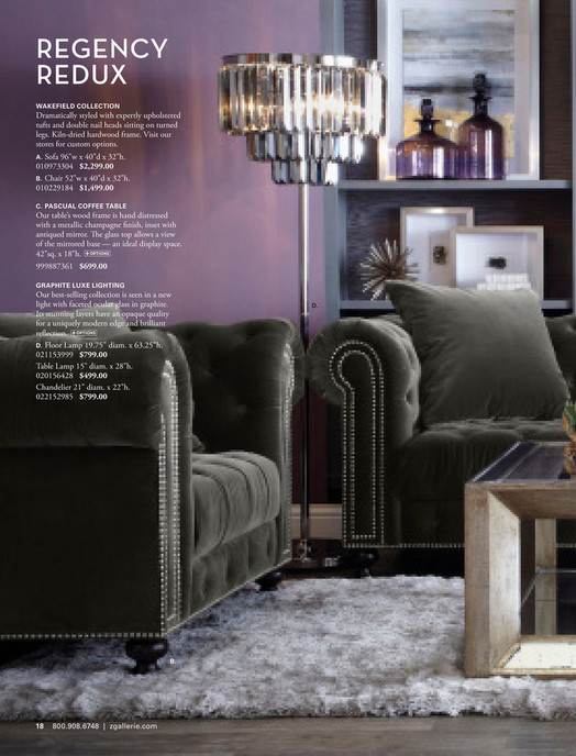 Regency Redux Wakefield Collection Dramatically Styled With Expertly Upholstered Tufts And Double Nail Heads Sitting On