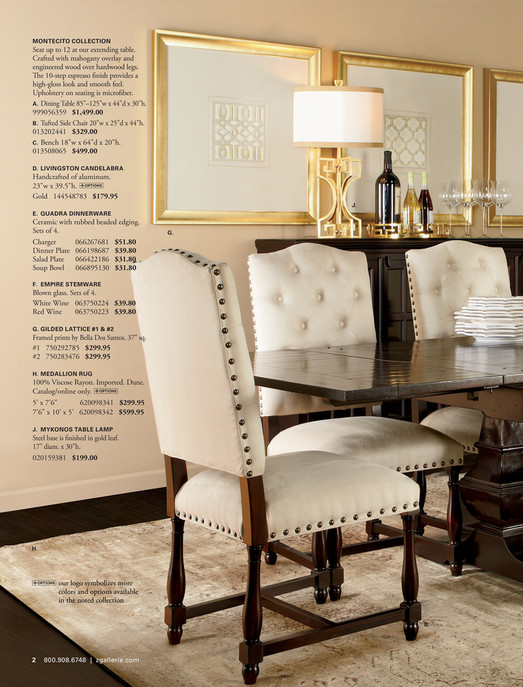 MONTECITO COLLECTION Seat Up To 12 At Our Extending Table. Crafted With  Mahogany Overlay And ...