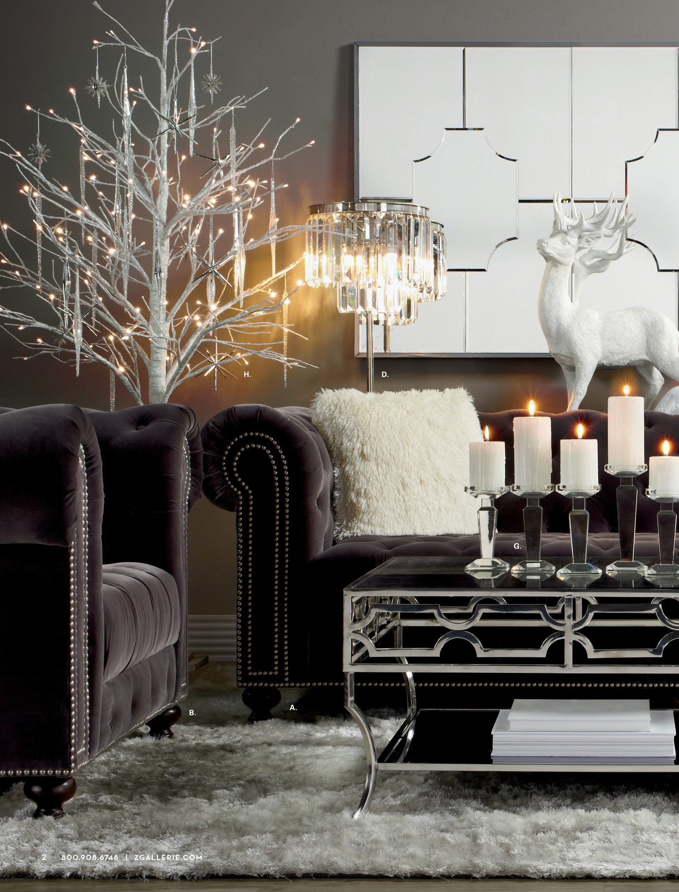 z gallerie duplicity coffee table